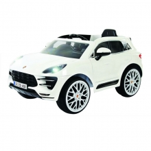 KIKKA BOO Акумулаторна кола Porsche Macan turbo 6v suv, 6v, rc, white