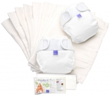BAMBINO MIO Стартов комплект Miosoft Nappy Set - бял